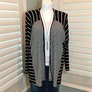 Lane Bryant Lightweight Striped Cardigan, 22/24